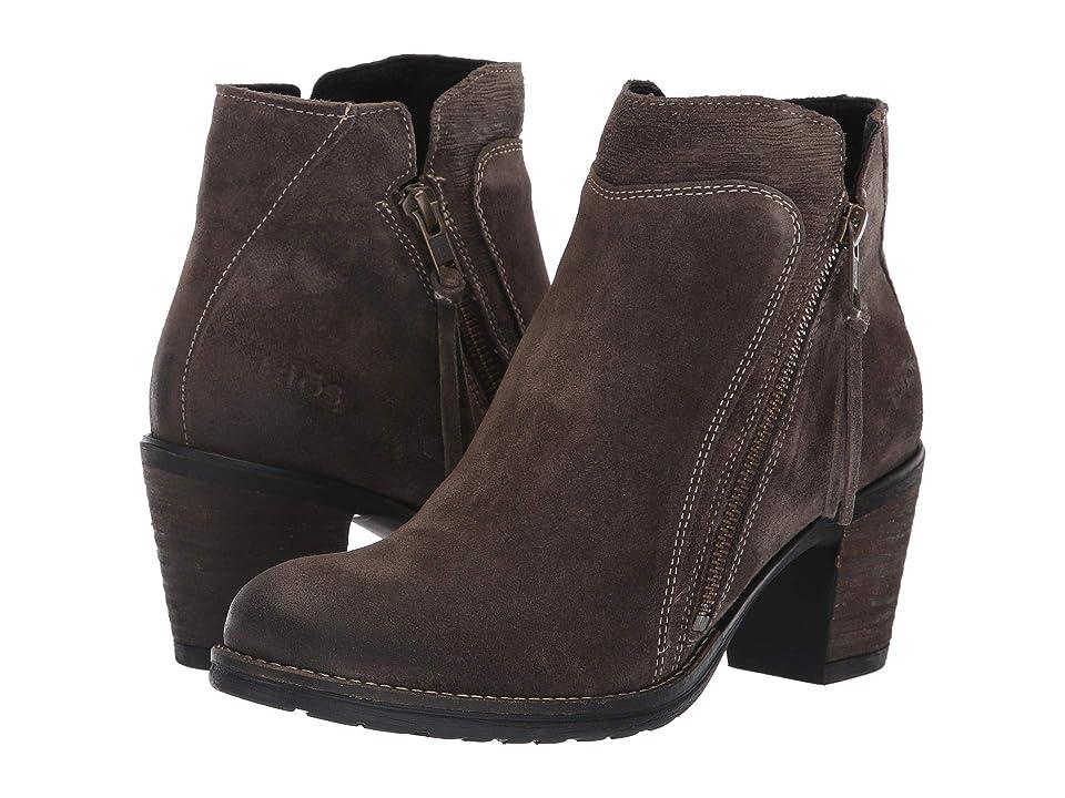 Taos Footwear Dillie (Dark Taupe Suede) Women