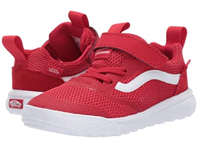 Vans Kids UltraRange Rapidweld (Infant/Toddler) (Racing Red/True White) Boy