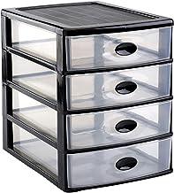 Loira drawer 4 Drawers Black