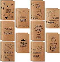 """JPSOR 20 Pack Small Notebook for Kids, Lined Notebook Journals, 3.5"""" x 5.5"""" Pocket Notebook with 10 Different Happy Design..."""