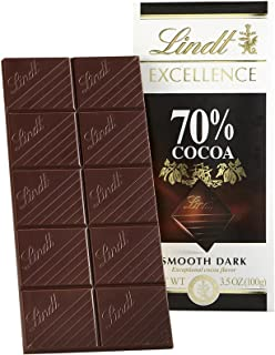 Lindt Excellence 70% Cocoa Bar, 12 ct, 70% Cocoa