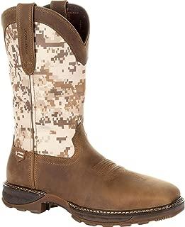 Durango Men's Camo Maverick Xp Waterproof Western Work Boot Steel Toe - Ddb0207
