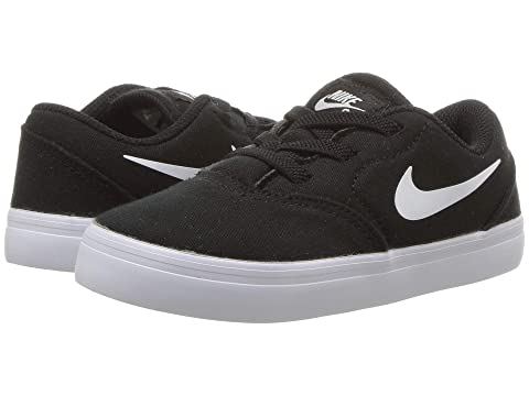 2fbcbfea26 Nike SB Kids Check Canvas (Infant/Toddler) at Zappos.com