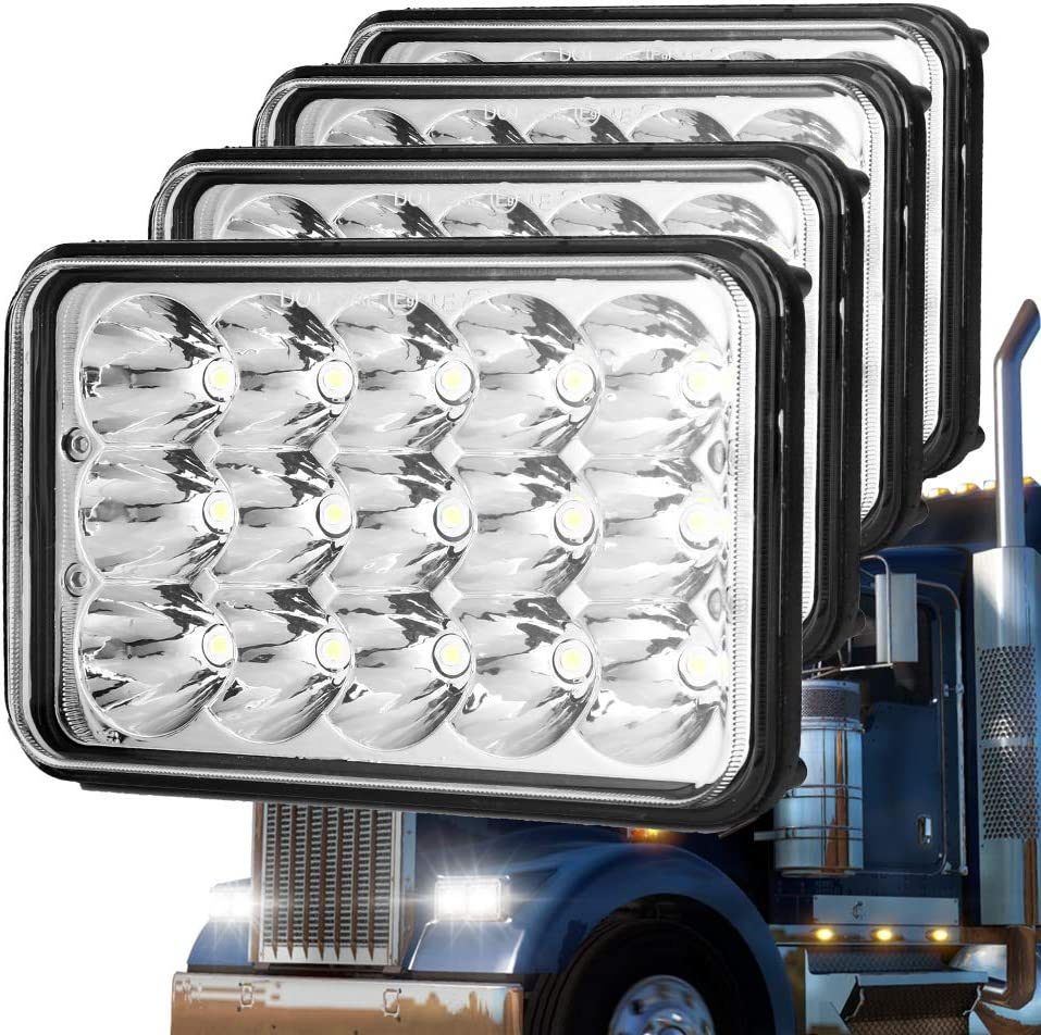 Classic Fashionable 4X6 Inch Ultra Bright for Led H4652 H4651 headlights Limited Special Price