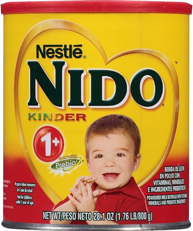 NESTLE NIDO Kinder 1 Powdered Milk Beverage 1 76 Lb Canister