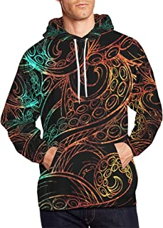Custom Cool Design Stylish Men's Pullover Hoodies Sweatshirt