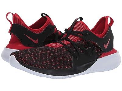 Nike Flex Contact 3 (Black/University Red/White) Men