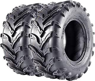 VANACC ATV Tires 25x10x12 Set of 2 AT 25x10-12 6PR 25 inch UTV Tires
