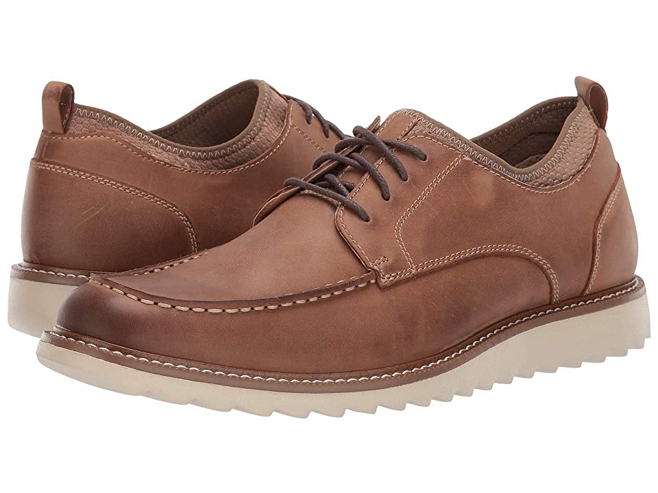 Dockers Faraday Smart Series Oxford (Tan Burnished Crazy Horse) Men