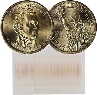 2008 P James Monroe Presidential Dollar 25 Coin Roll BU