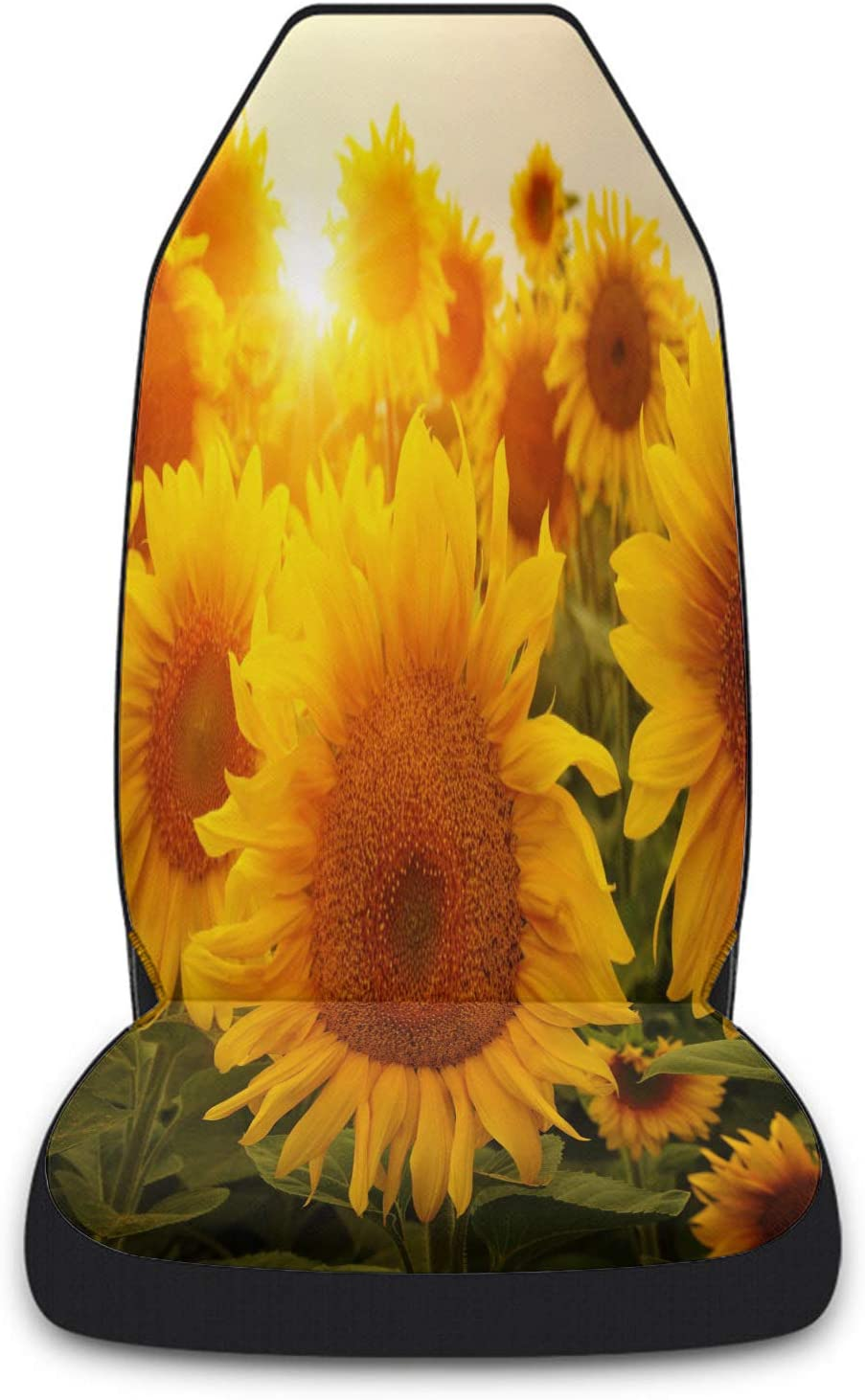 Cloud Dream Home Car Virginia Beach Mall Seat Field Max 78% OFF Covers Blooming Front Sunflower