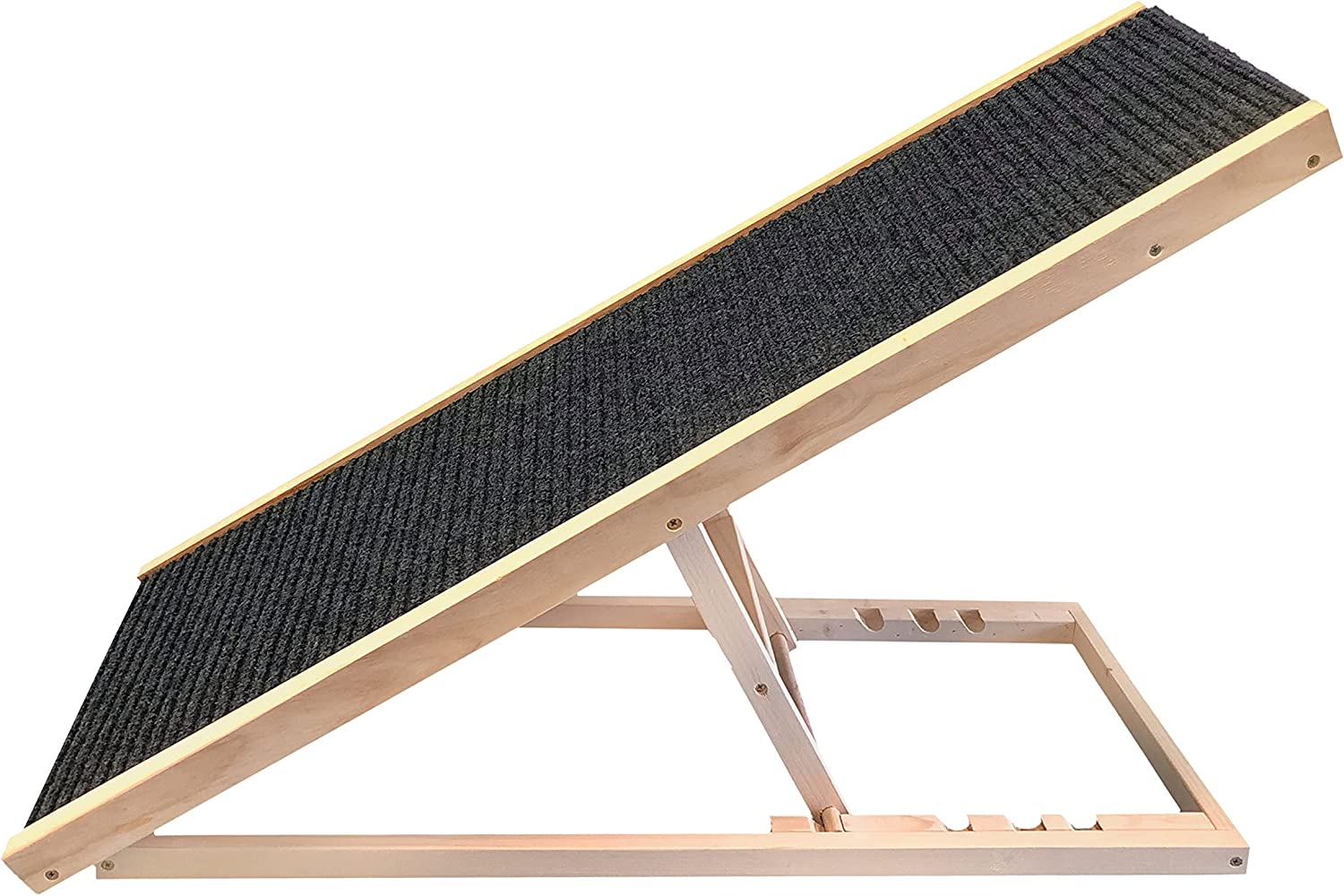 PATHOSIO PETS - Adjustable Dog Ramp for Dogs Ra Cats Max 84% OFF Outlet sale feature Car All