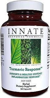 INNATE Response Formulas, Turmeric Response, Supports a Healthy Inflammation Response, 60 Capsules (60 Servings)