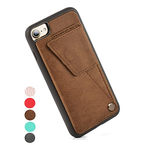 new style 217e1 2be0b iPhone Leather Wallet Case: Amazon.com