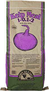 Down To Earth Organic Kelp Meal Fertilizer Mix 1-0.1-2, 20 lb