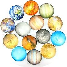 Imanes planetarios de nevera de Ktdorns – Paquete de 14 imanes de refrigerador, imanes de oficina, imán de calendario, imá...