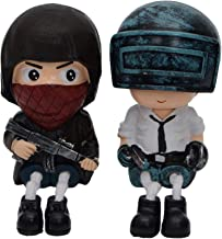 Store2508® Highly Detailed PUBG Hanging Legs Showpiece Dolls. (Pair) for Home Décor. Very Nice Gift Item