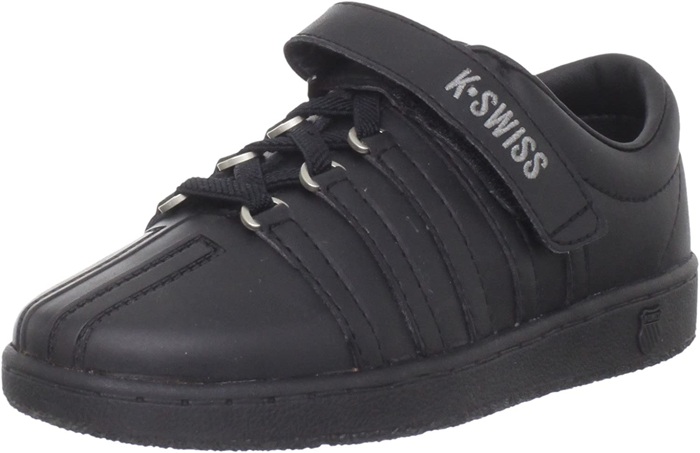 K-Swiss 51277 Classic VLC Tennis Shoe (Little Kid)