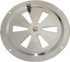 ARBO-INOX Ventilatierooster ventilatieplaat kiemrooster kiemventilator ronde ventilator roestvrij staal