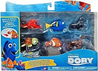 Disney / Pixar Finding Dory Swigglefish Exclusive Figure 6-Pack