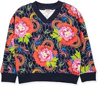 Kenzo Kids Girl's All Over Paris Sweatshirt (Big Kids)
