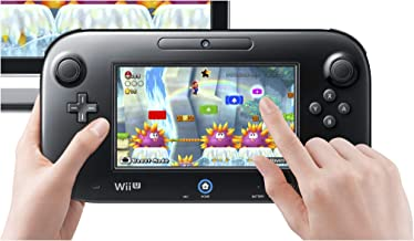 Nintendo WUP-010_CR Wii U Gamepad, Black (Renewed)