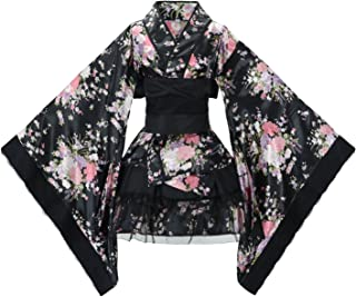 Sheface Women's Cosplay Lolita Fancy Dress Japanese Kimono Anime Costumes