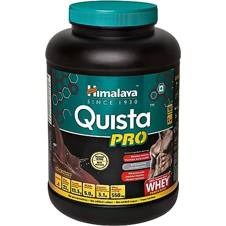 Himalaya Quista Pro Advanced Whey Protein Powder - 2 kg (Chocolate)