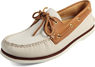 Sperry Top-Sider Men's Gold Authentic Original 2-Eye Boating Shoes