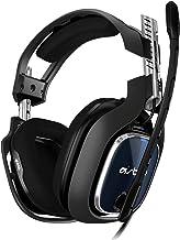 Headset Astro Gaming A40 TR para PS4, PC, Mac - Preto/Azul, Único