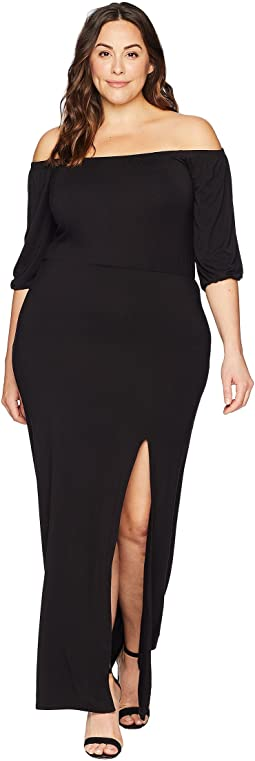 Plus Size Kate Off the Shoulder Dress