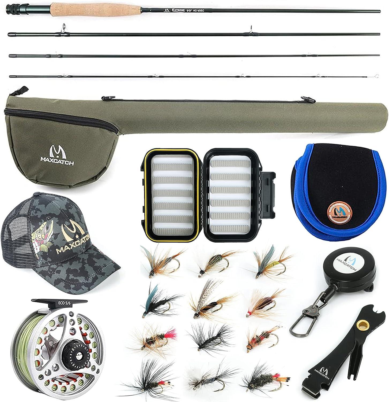 Maxcatch Extreme Fly Fishing Combo Amazon's Choice