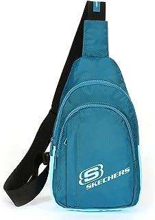 Skechers petit sac de poitrine à bandoulière sacs à bandoulière sacs de téléphone de gymnastique légers pour cyclisme cour...