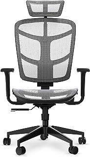 【正規品】Komene オフィスチェア デスクチェア 椅子 人間工学チェア PCチェア パソコンチェア イス ハイバックチェア 通気性 在宅勤務椅子 自宅勤務いす テレワークチェア 135度リクライニング 4D可動肘 ヘッドレスト アームレスト...