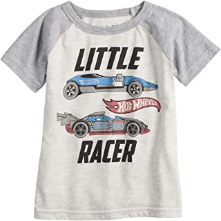 Jumping Beans Toddler Boys 2T-5T Hot Wheels Little Racer Graphic Tee