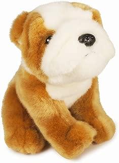 VIAHART Everett The English Bull Dog   6 Inch Stuffed Animal Plush   by Tiger Tale Toys