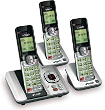 VTech CS6529-3 3-Handset Expandable Cordless Phone with Answering System-Caller ID/Call Waiting and Backlit Display/Keypad... photo