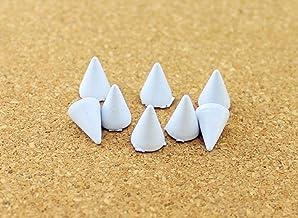 50 stks 7 * 10mm Bullet Cone Gekleurde Studs en Spikes voor Kleding DIY Handcraft Garment Klinknagels voor Lederen Tas Sch...