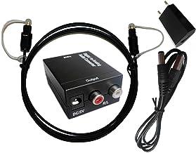 Easyday Premium Digital to Analog Audio Converter - Optical SPDIF Toslink coaxial to RCA L/R Adapter óptico Adaptador convertidor