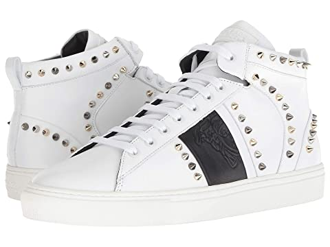 Versace Collection Spiked High Top Sneaker