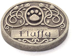 product image for Carruth Studios One Line Engraved Floral Pet Memorial 6.75 Inches Wide