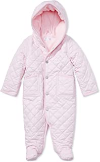 Ralph Lauren Polo Baby Girls Pink Hooded Quilted Barn Bunting Romper 6 Months