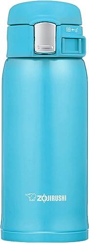 Zojirushi Stainless Steel Mug, 360ml, Turquoise Blue