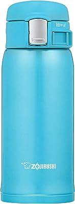 象印 ( ZOJIRUSHI ) 水筒 直飲み 軽量ステンレスマグ 360ml ターコイズブルー SM-SC36-AV