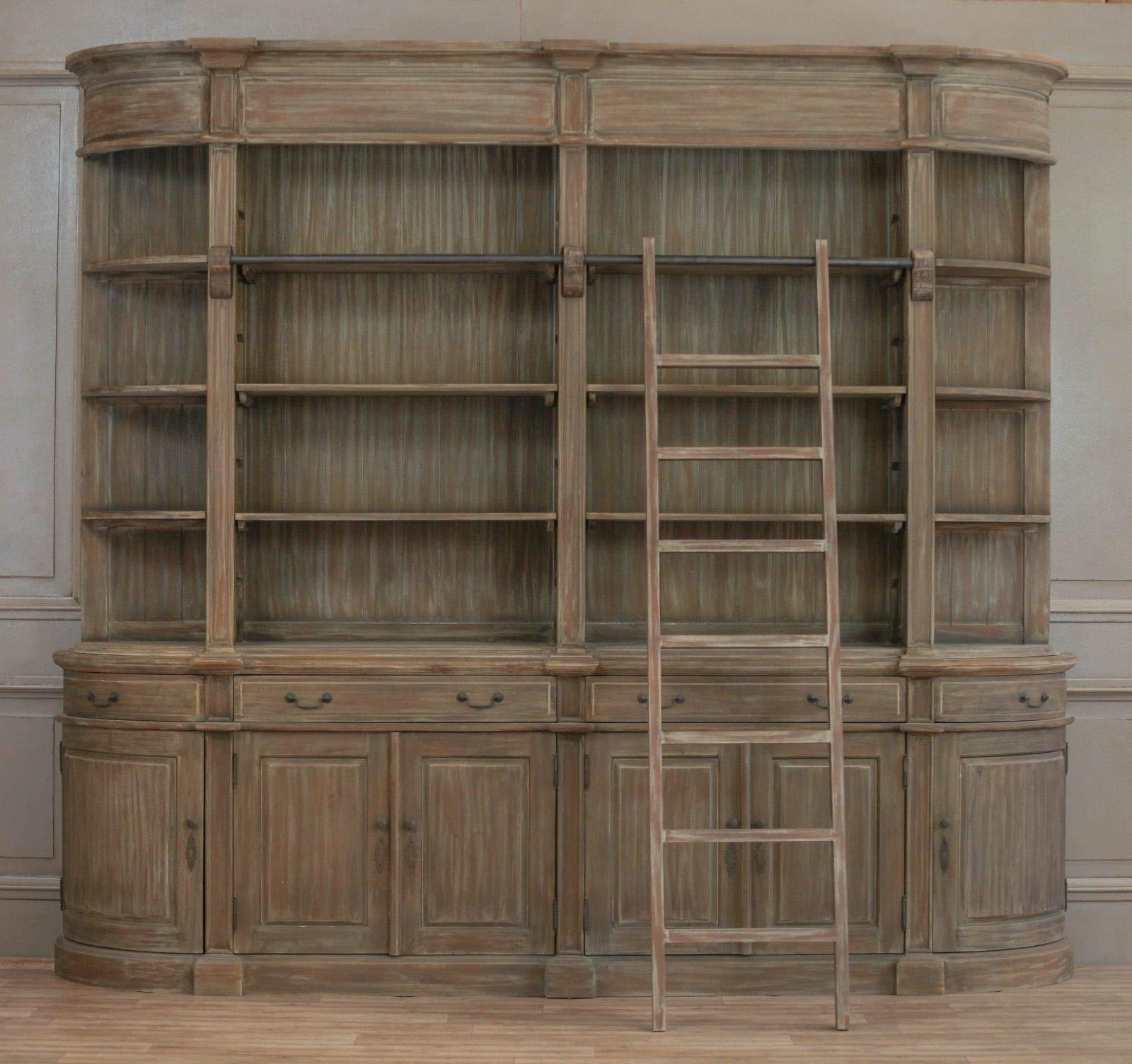 Biblioteca de madera doble con escalera, extra grande, diseño de Harry Potter: Amazon.es: Hogar
