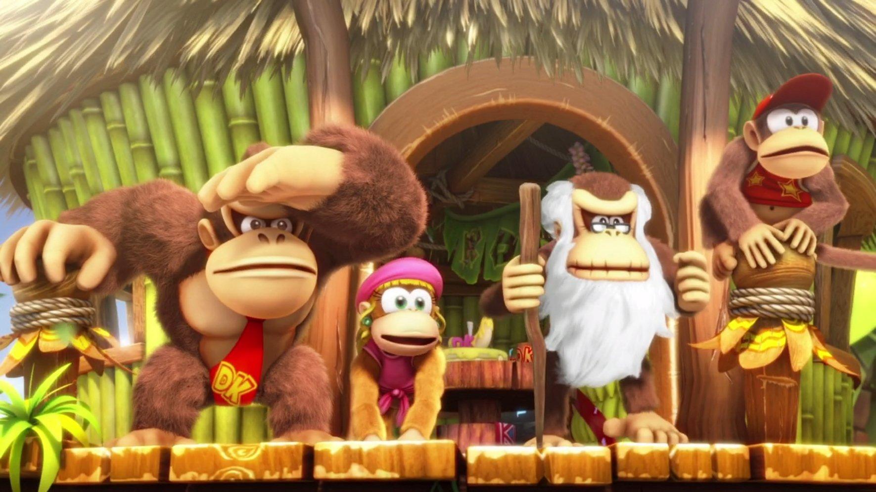 Donkey Kong Country: Tropical Freeze & Nintendo Switch - Mando Pro Controller, Con Cable USB: Amazon.es: Videojuegos