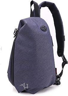 AH Arctic Hunter Mens Water Resistant Sling Backpack,One Shoulder Bag Purse,Crossbody Shoulder Bag,Hiking Daypack with Aud...