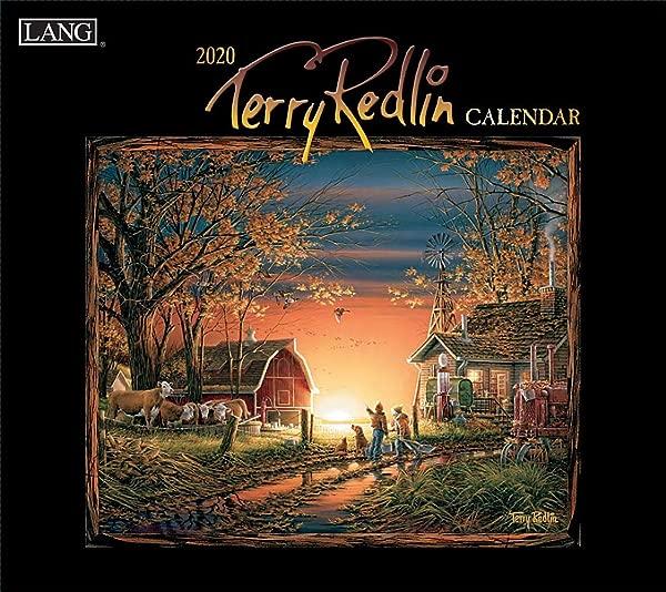 Terry Redlin 2020 Calendar Includes Downloadable Desktop Wallpaper