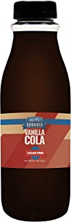 SUGAR FREE Diet Vanilla Cola Sparkling Water Sodamix Flavor   16oz (Pint) Bottle