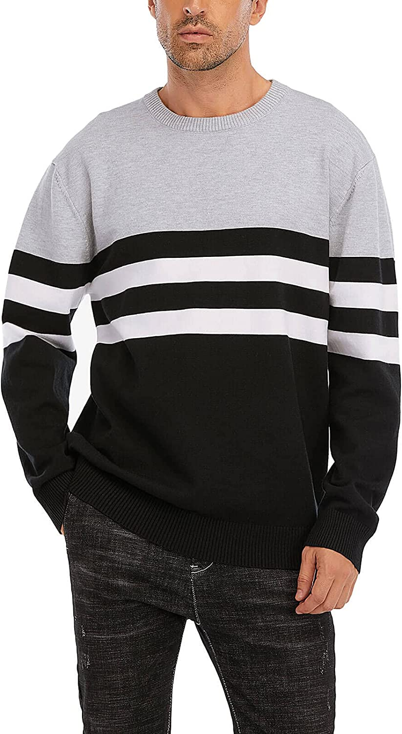 Cogild Mens Branded goods Casual Crewneck Pullover Twisted Cheap bargain Knitted Sweater The